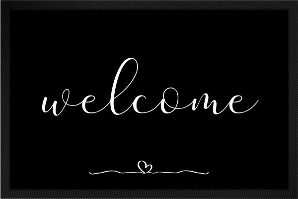 Welcome mit Herz
