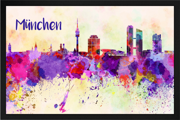 Fußmatte München *Neues Design*
