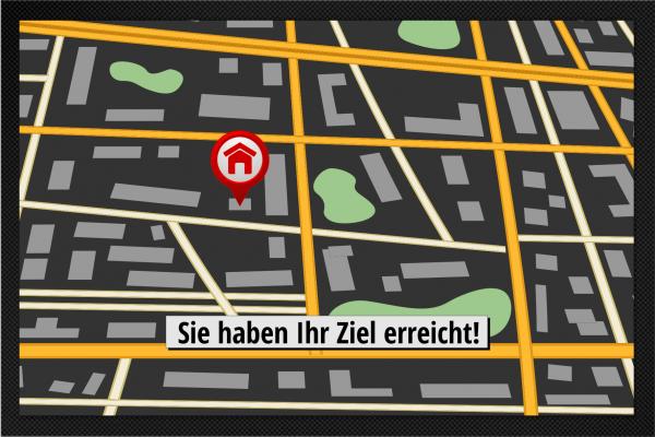 GPS - Sie haben Ihr Ziel erreicht