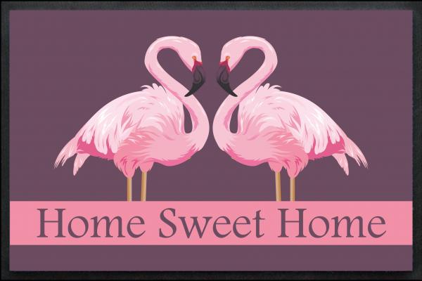 Flamingo Home Sweet Home