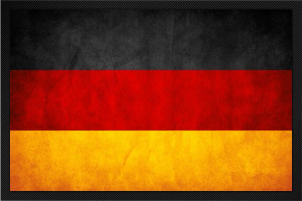 Fußmatte Deutschland
