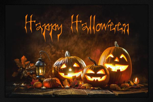 Fußmatte Happy Halloween
