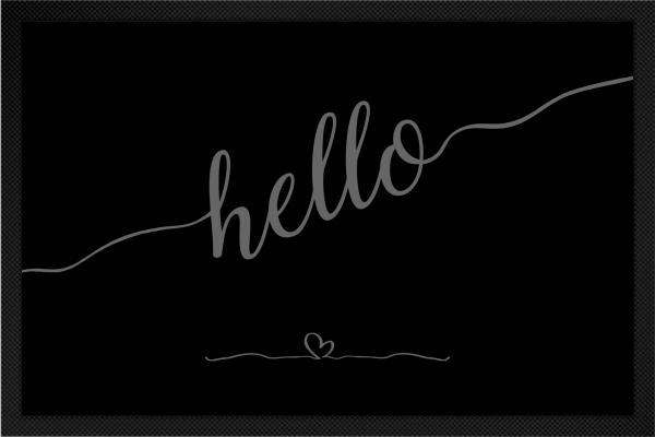 Hello mit Herz