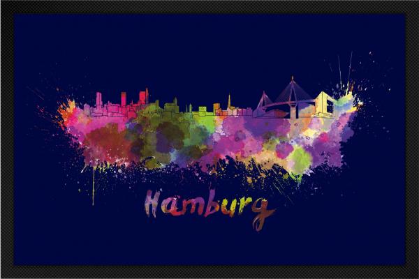 Fußmatte Hamburg